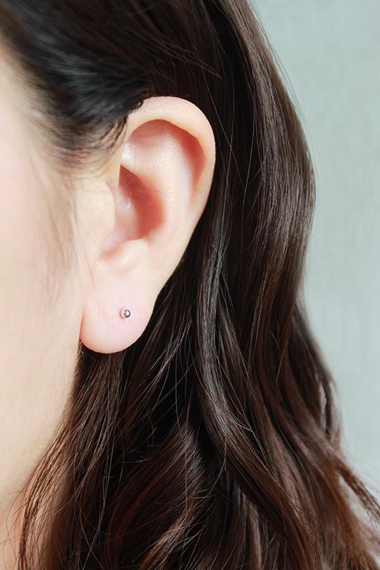 【經典款】2mm迷你輕巧925銀圓耳環