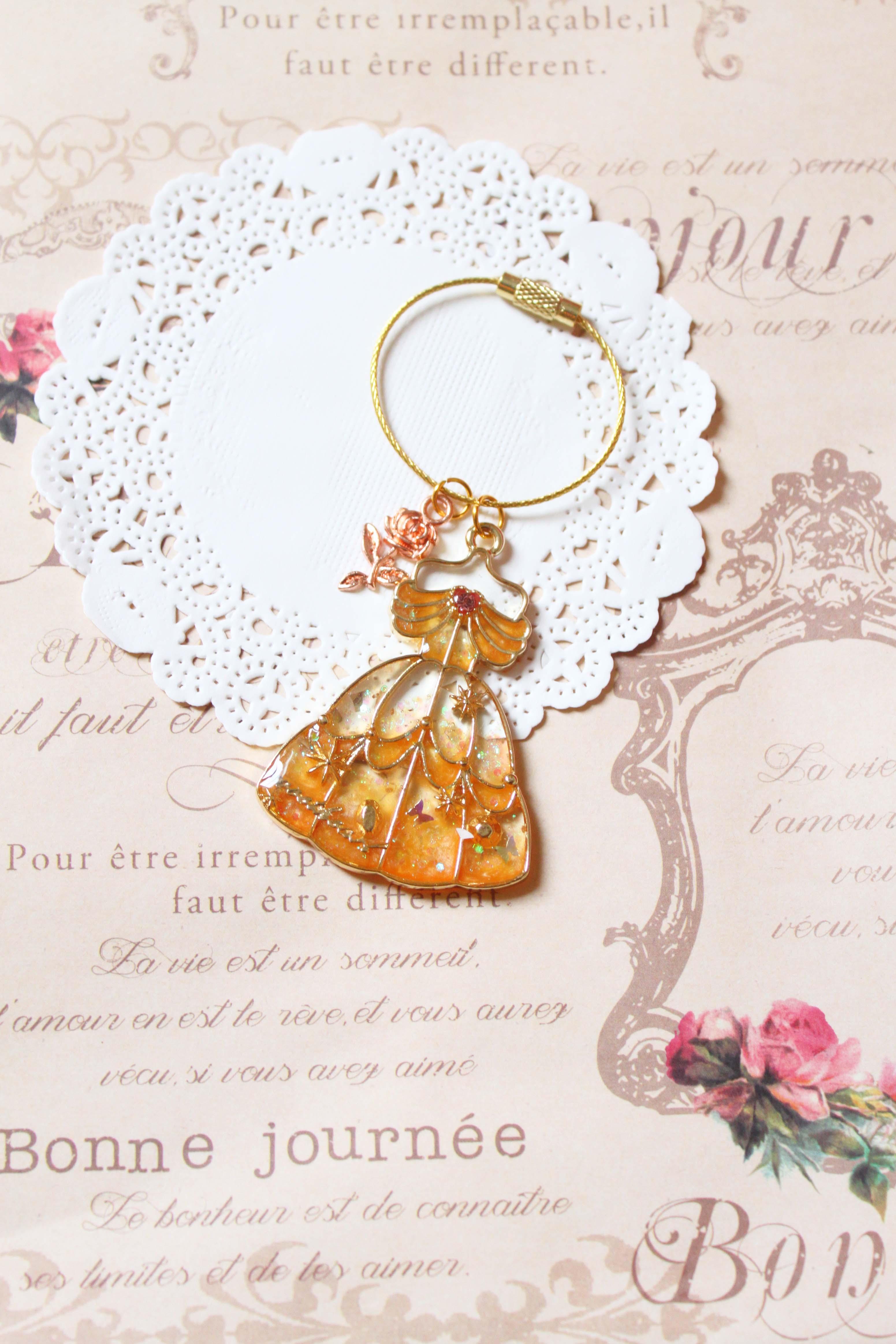 【鑰匙圈/吊飾】夢幻公主系列- 美女鑰匙圈