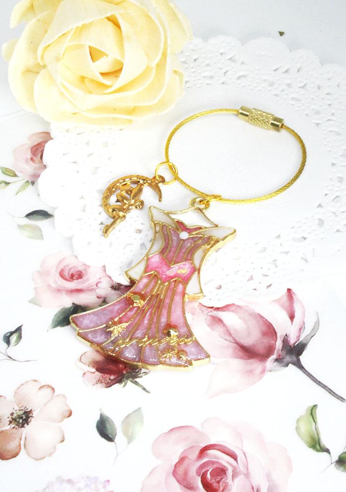 【鑰匙圈/吊飾】 夢幻公主系列-睡美人鑰匙圈