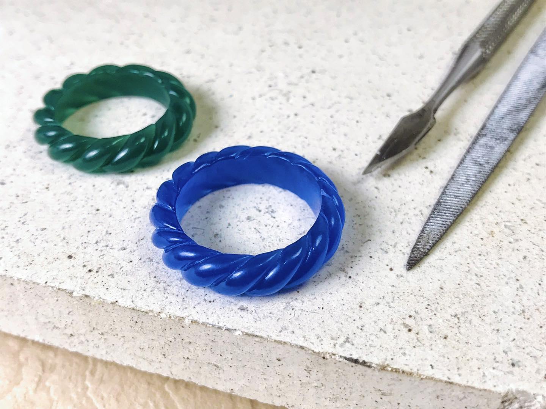 【手作課】蠟雕 / 純銀編織戒指