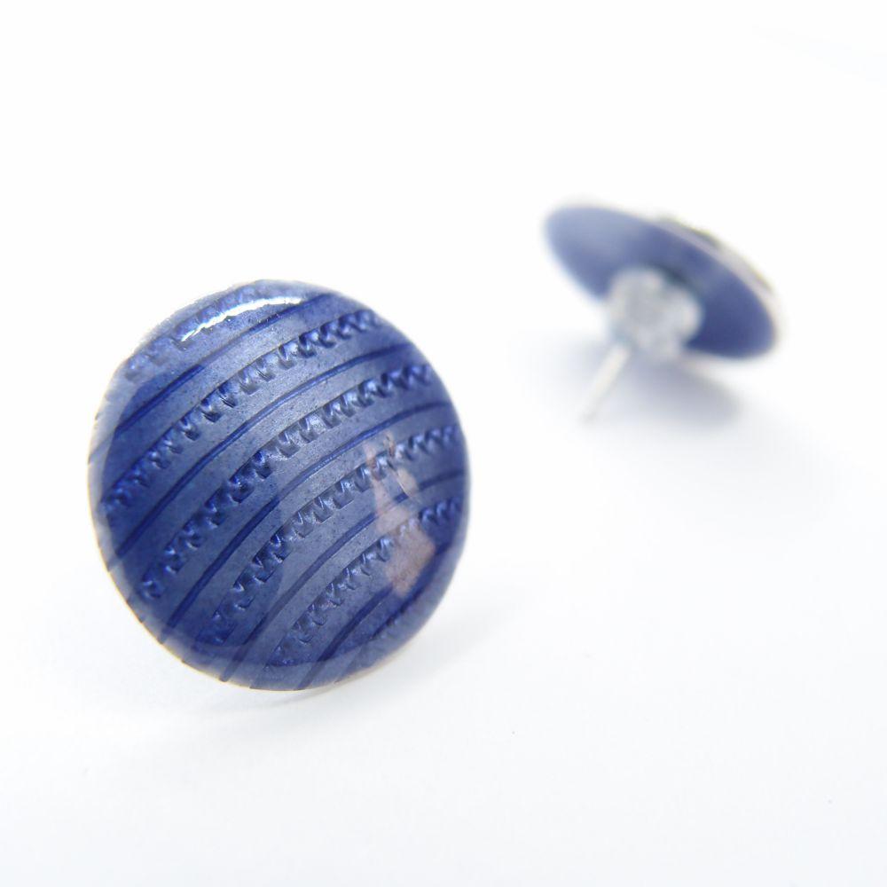 幾何星球 琺瑯純銀耳環2 NT$ 1,680