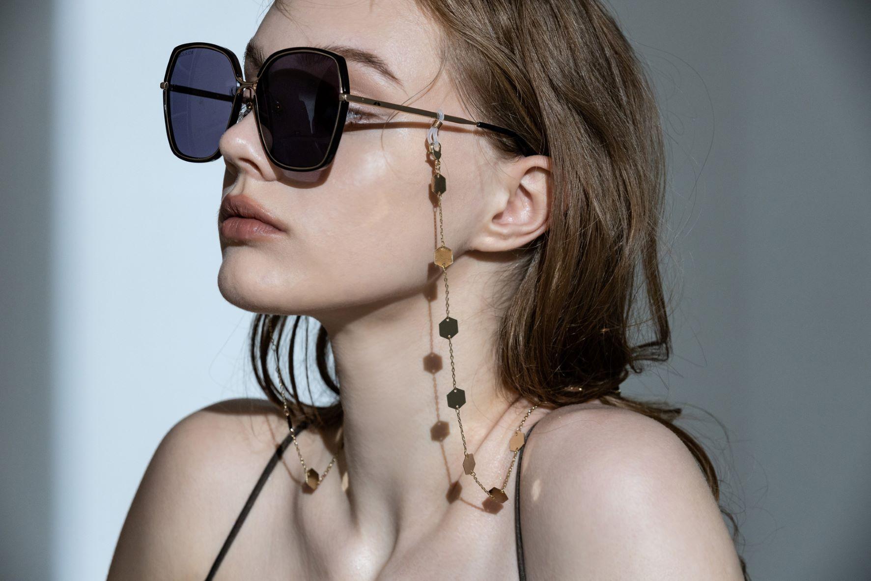 滿湖碎金眼鏡鍊/口罩鍊