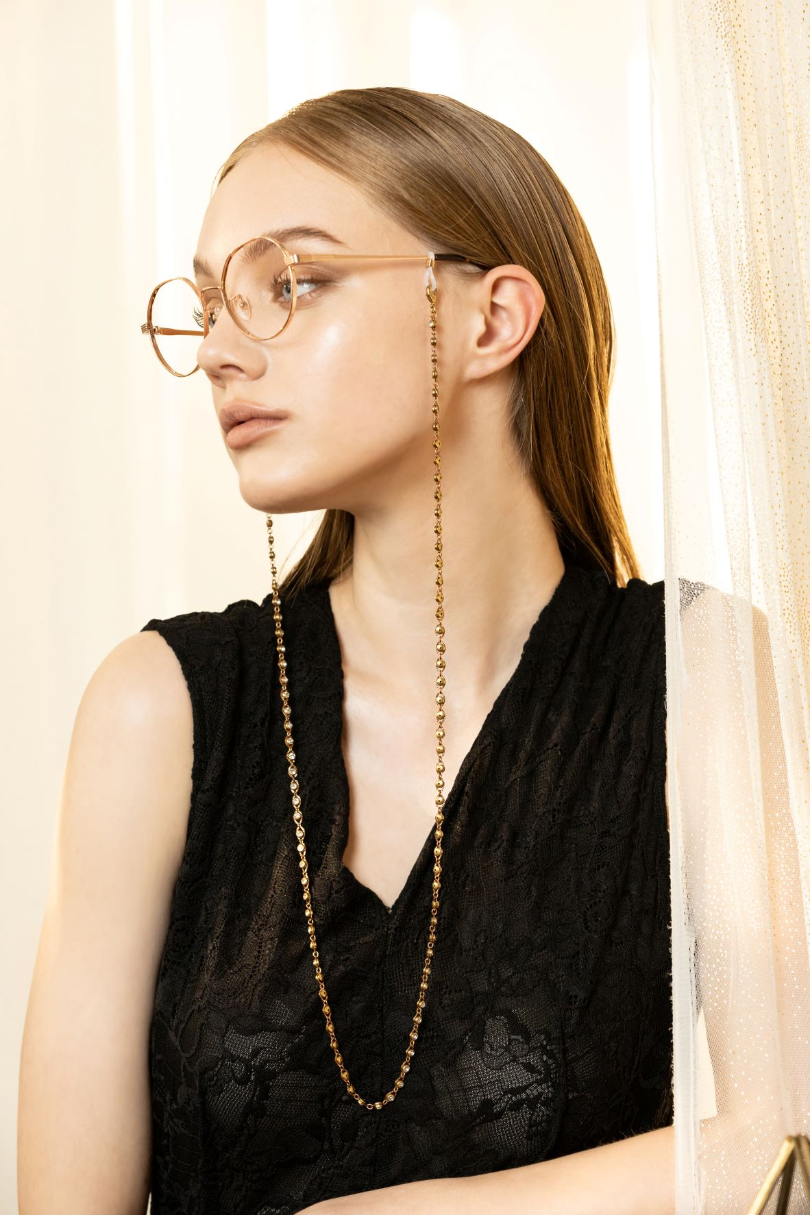 熠熠星光眼鏡鍊/口罩鍊