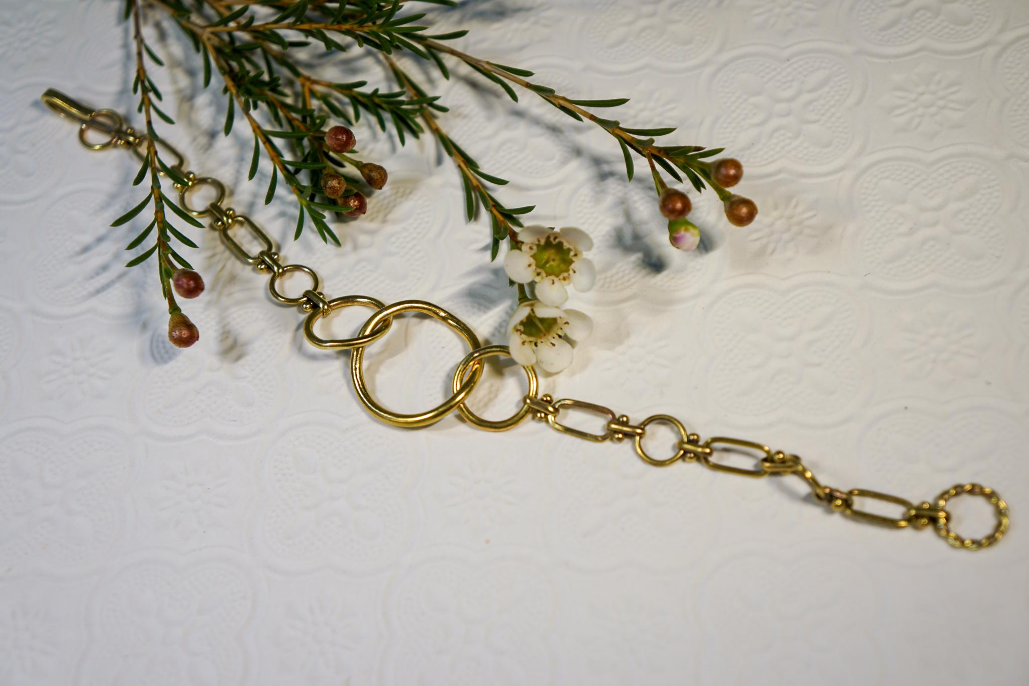 黃銅圈圈手鍊