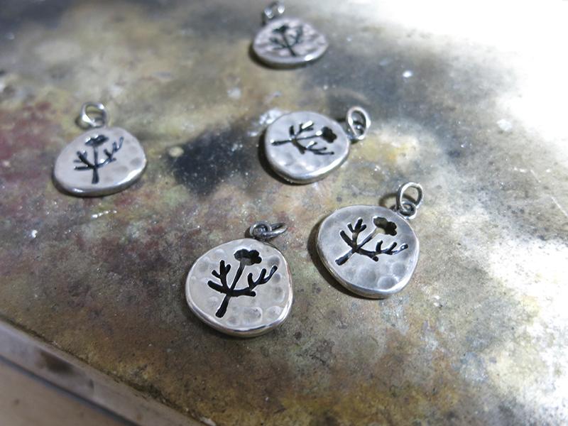 植物系列《小樹》純銀手鍊