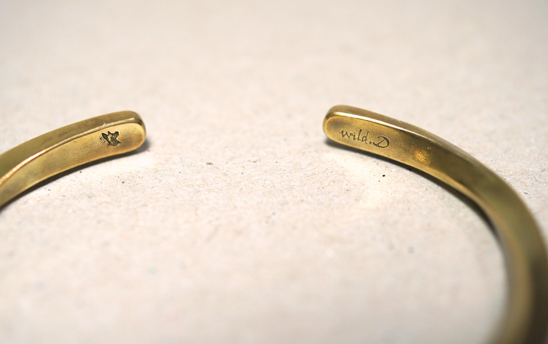 簡約扭轉 -黃銅手環 Concise twist -brass Bracelet /cuff