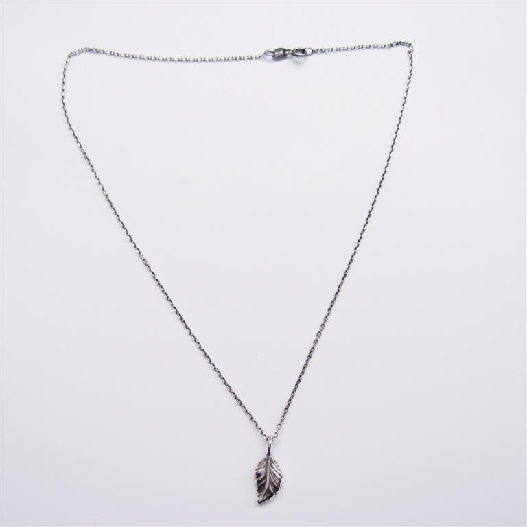 葉子    925純銀項鍊