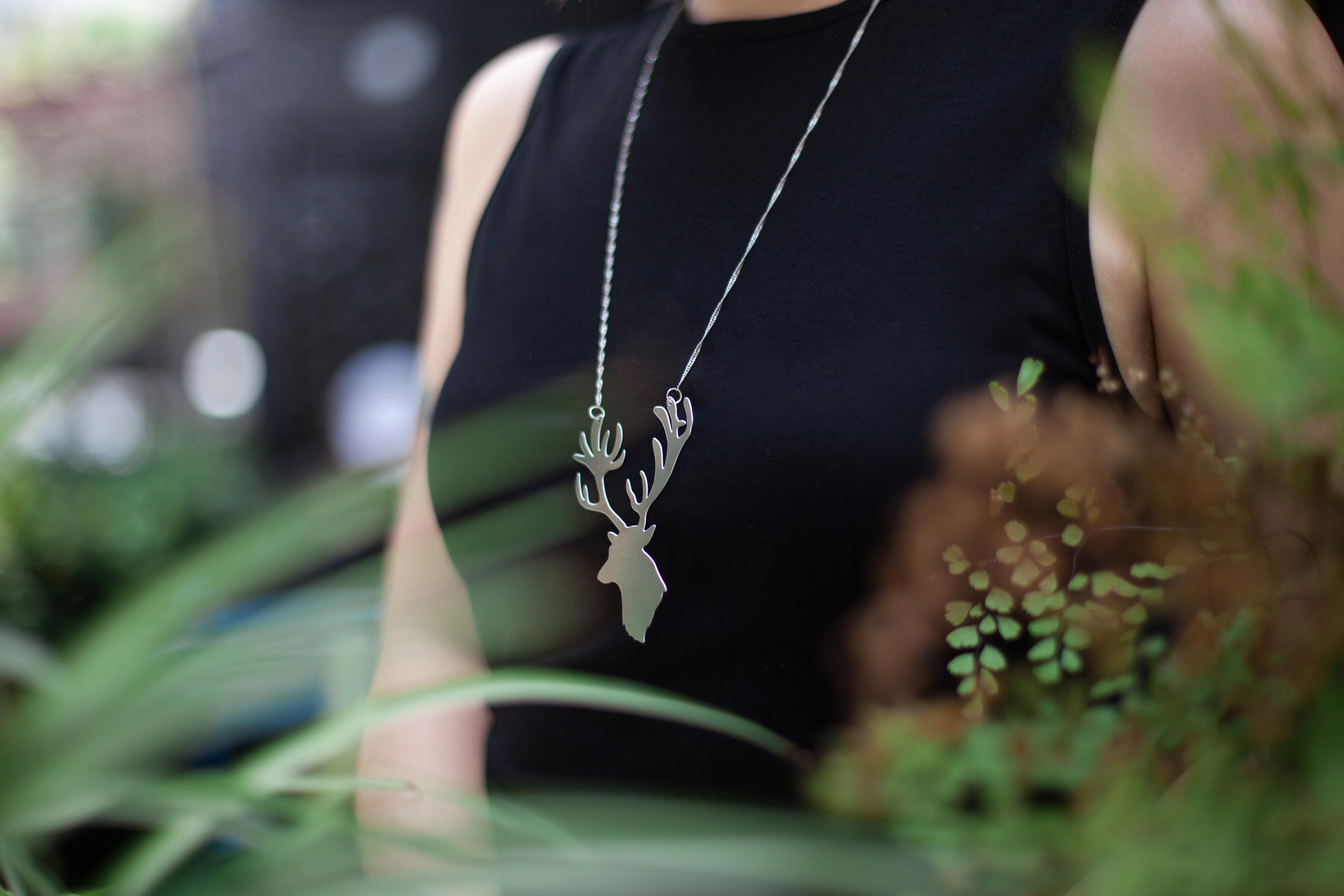 鹿項鍊(新品)_動物系列_造題