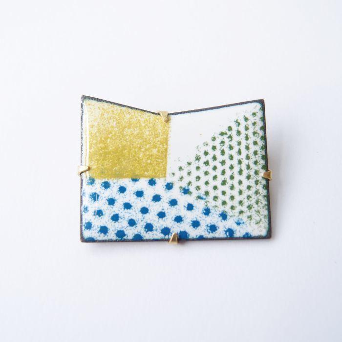 折學系列2 琺瑯金屬胸針