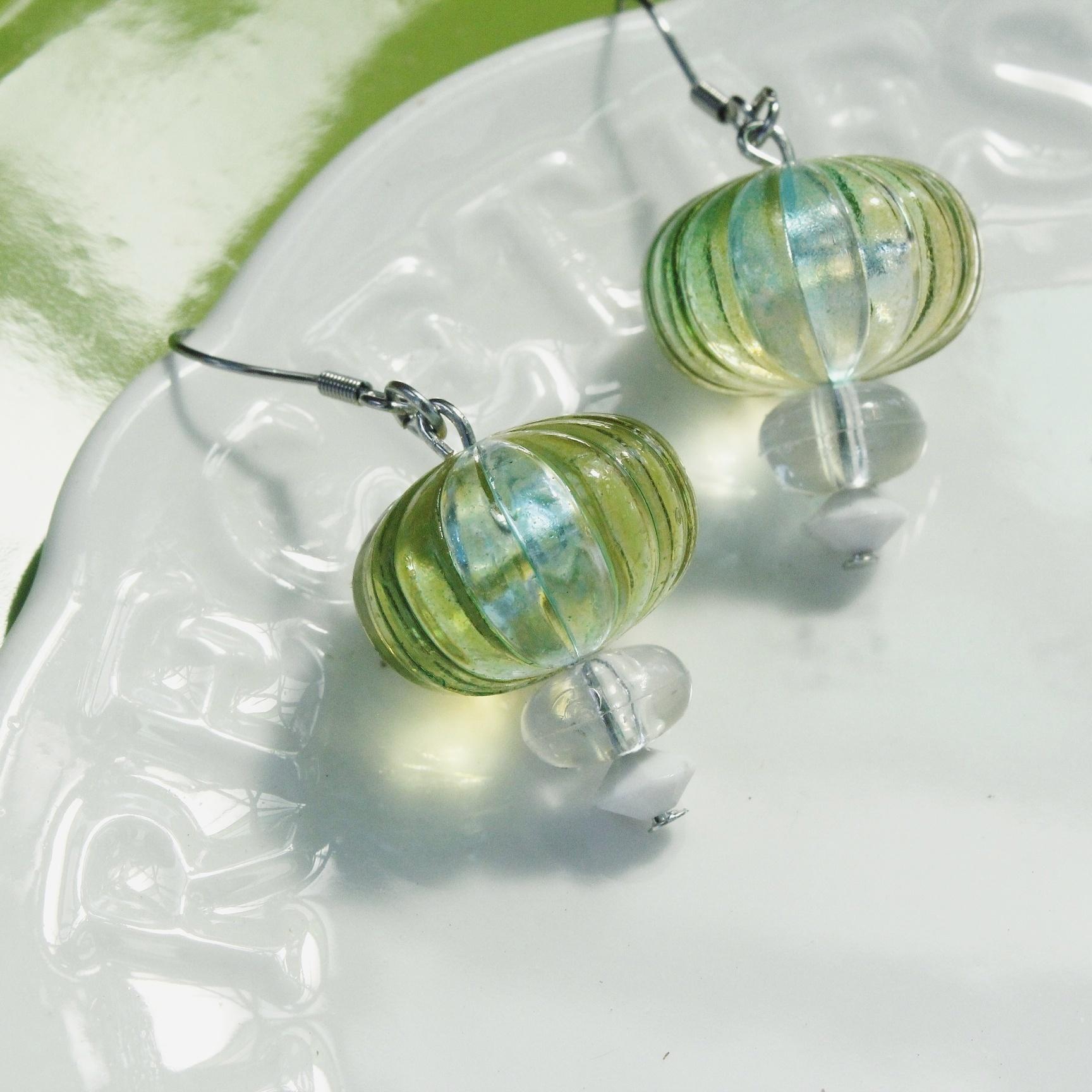 |透明系|透明洋蔥耳環
