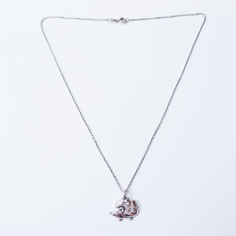 刺蝟 925銀 項鍊