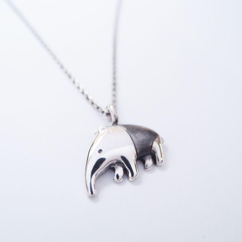 馬來貘 925銀 項鍊