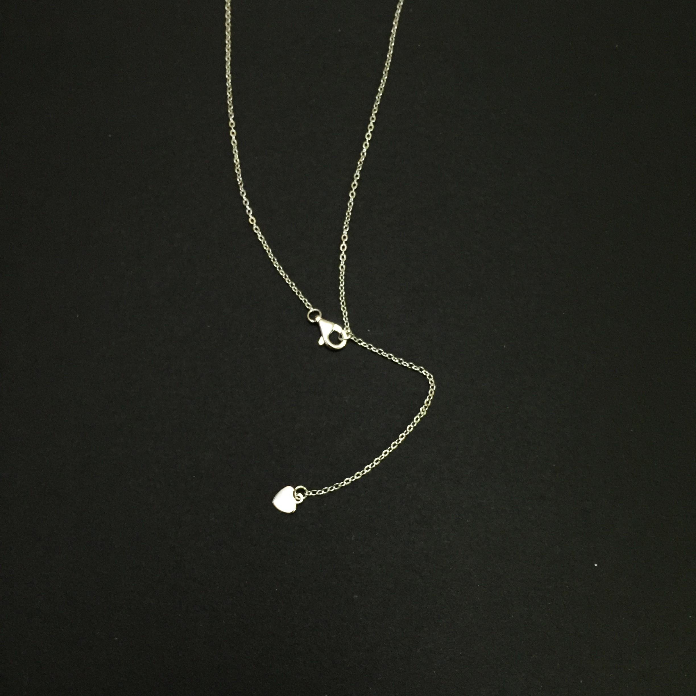 海神波賽頓的珍寶 托帕石 三爪蛋糕邊設計款 純銀項鏈