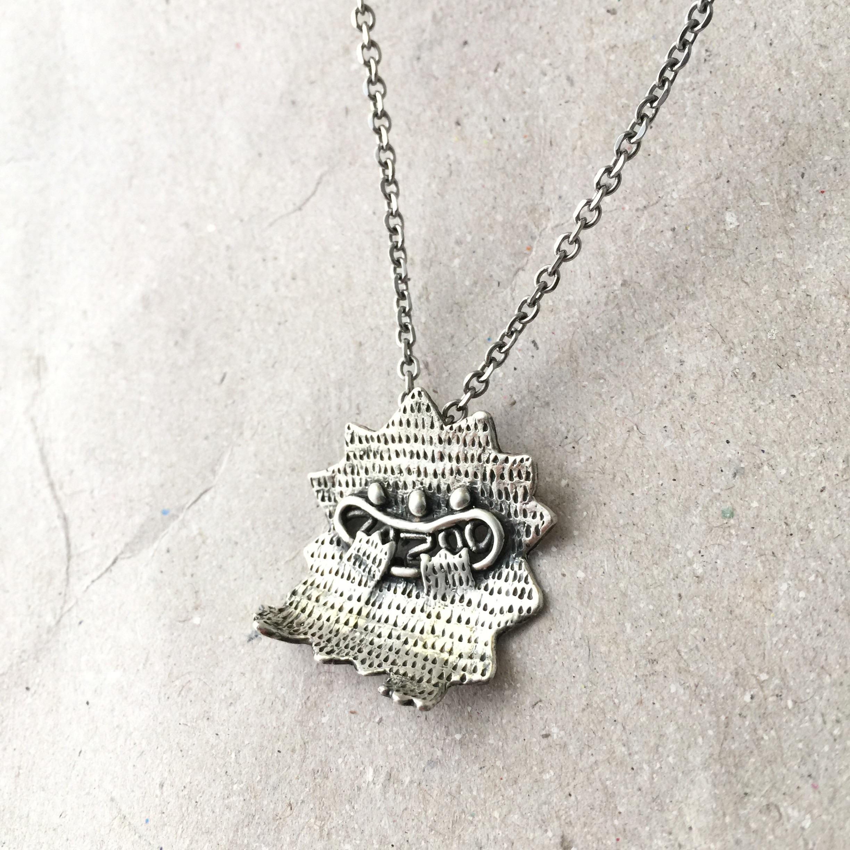 《嘻嘻獸》純銀項鍊