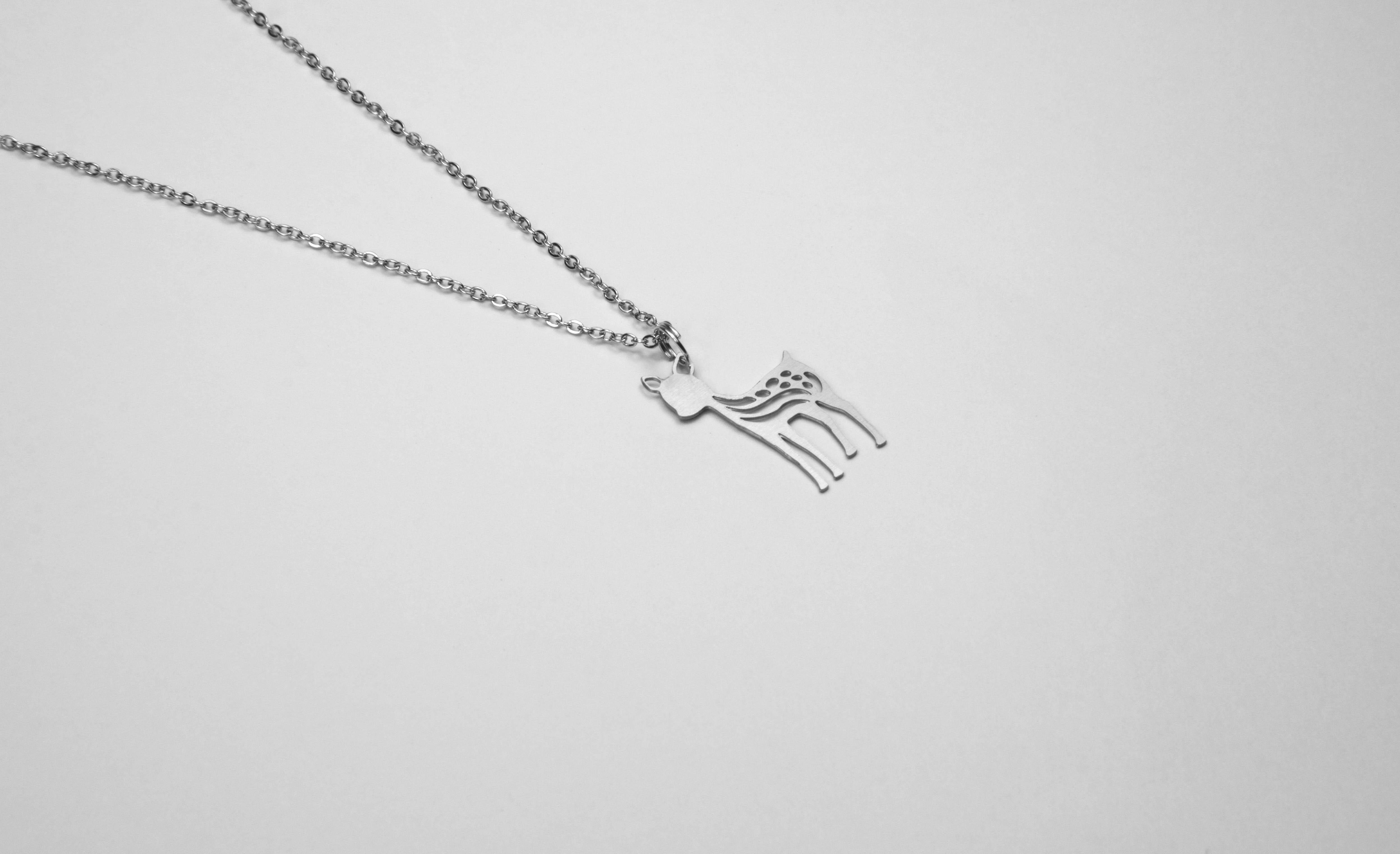 小鹿項鍊【迷你款】_動物系列_造題
