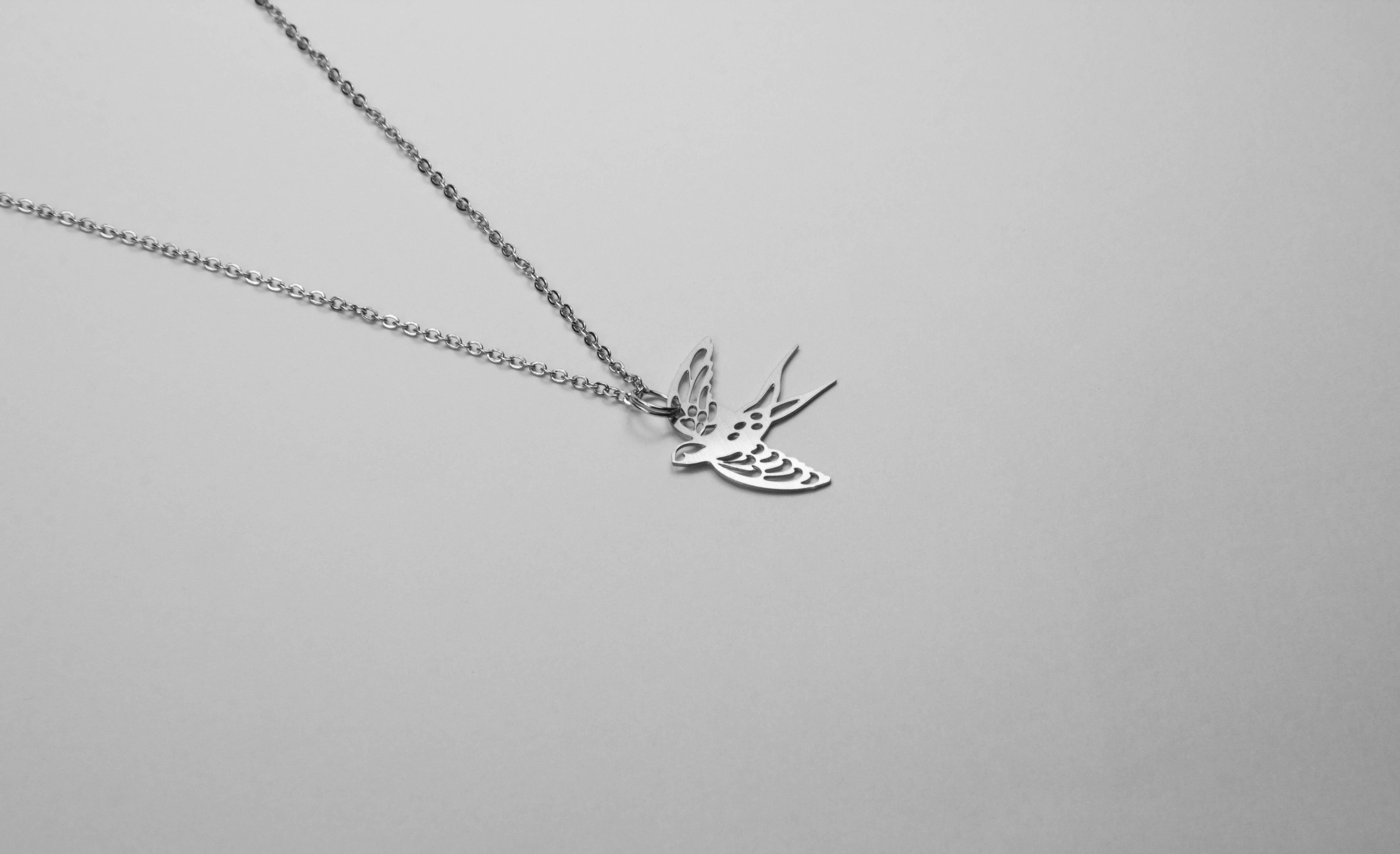 燕子項鍊【迷你款】_動物系列_造題