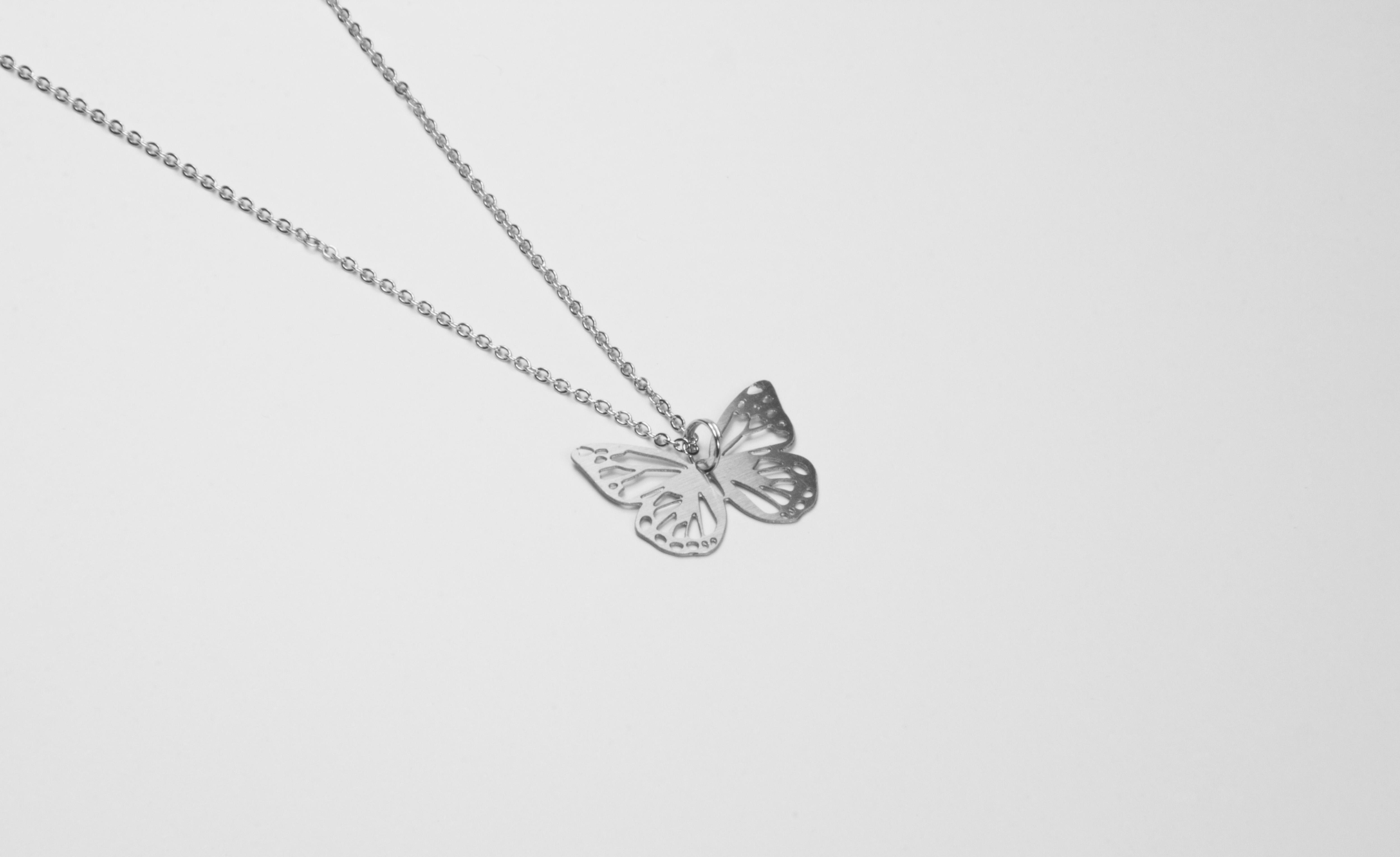 蝴蝶項鍊【迷你款】_動物系列_造題