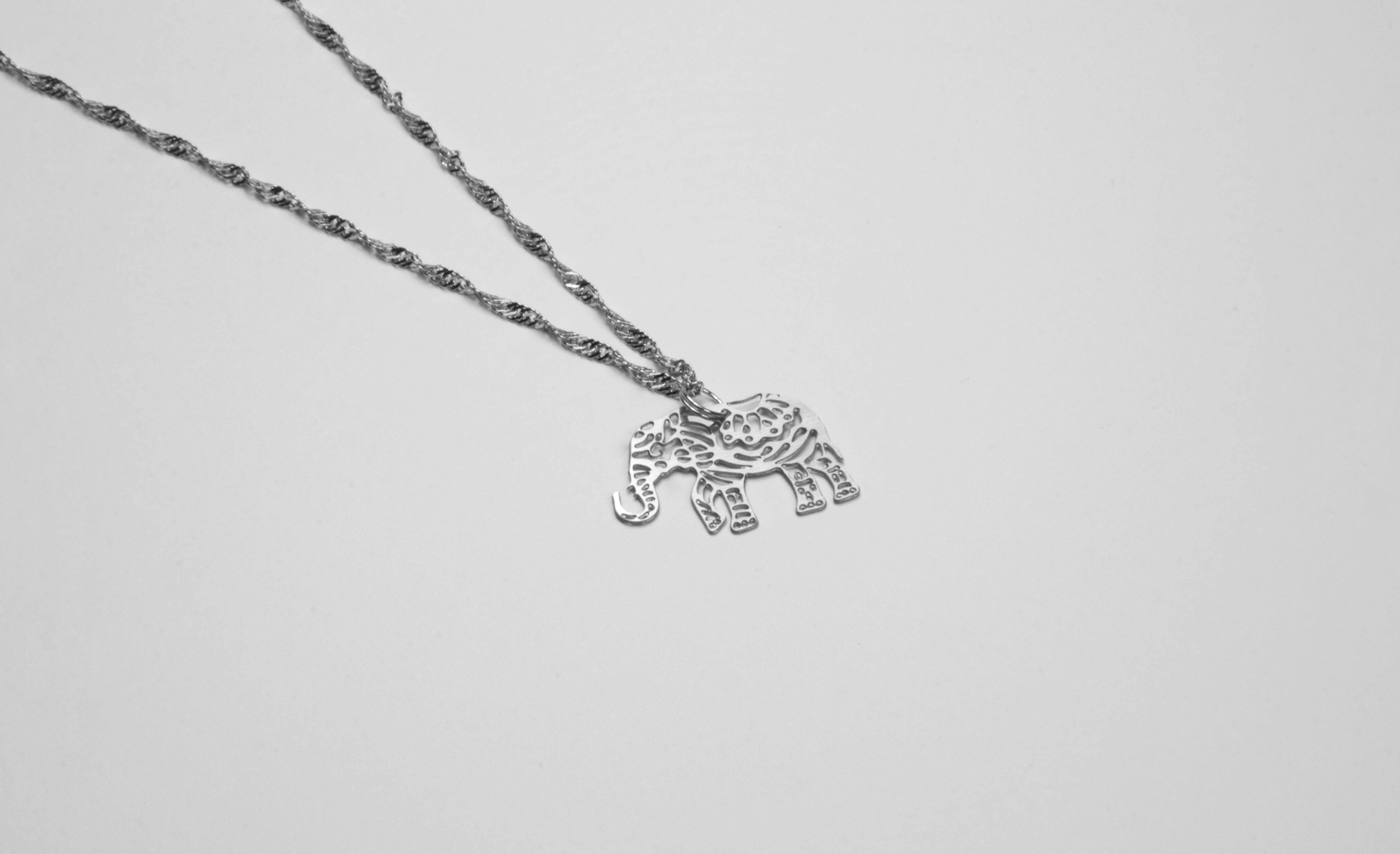 大象項鍊【迷你款】_動物系列_造題