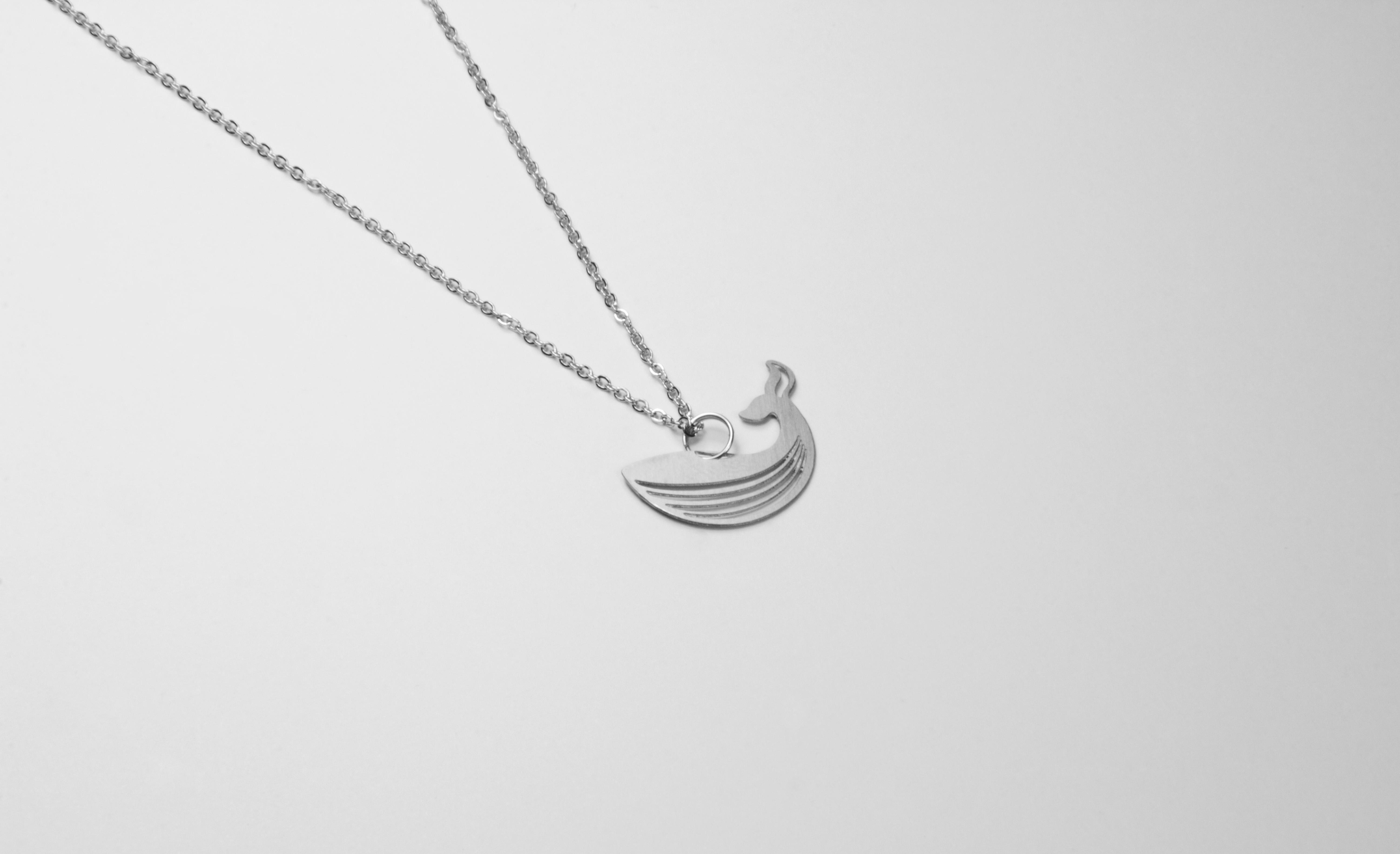 鯨魚項鍊【迷你款】_動物系列_造題