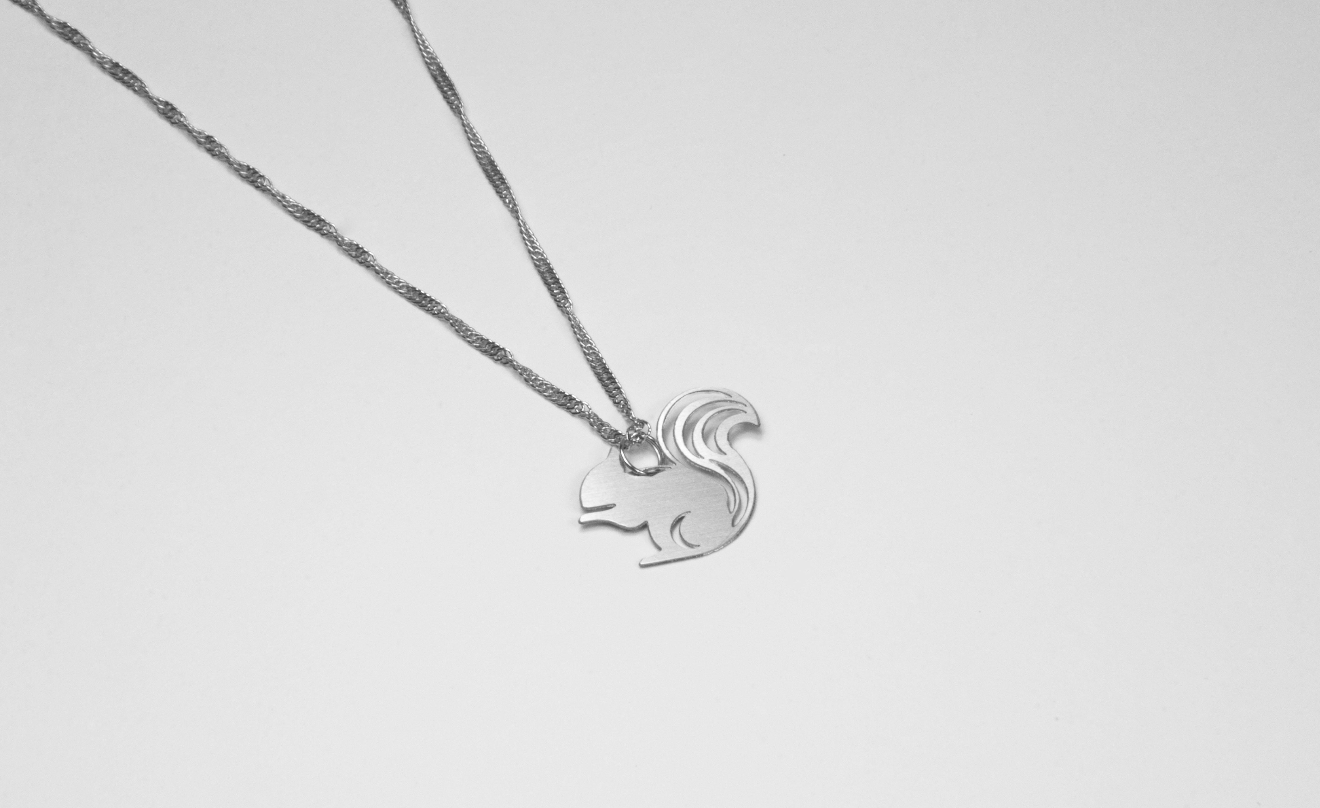 松鼠項鍊項鍊【迷你款】_動物系列_造題