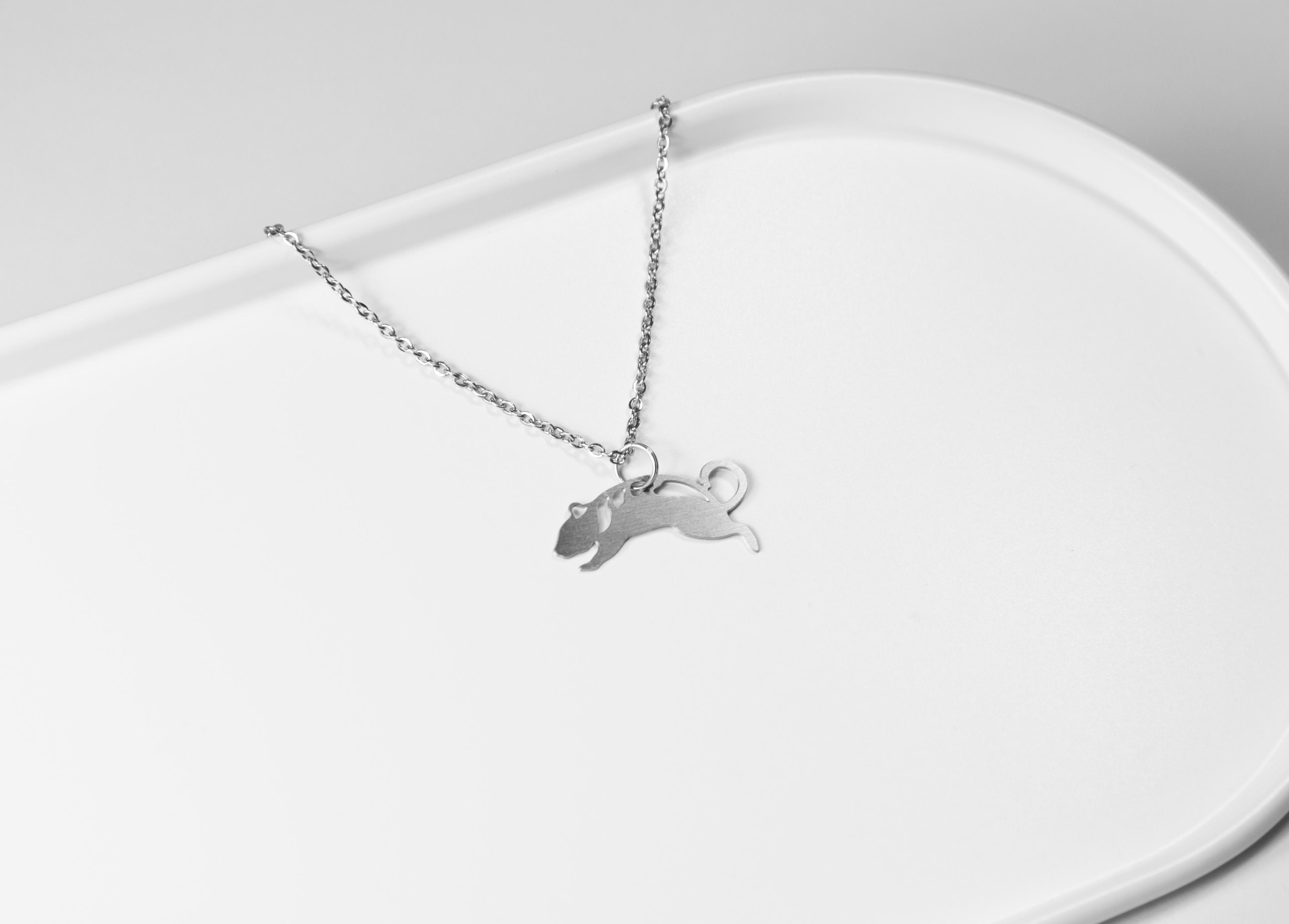 十二生肖-鼠 (款式一) 項鍊【迷你款】_動物系列_造題