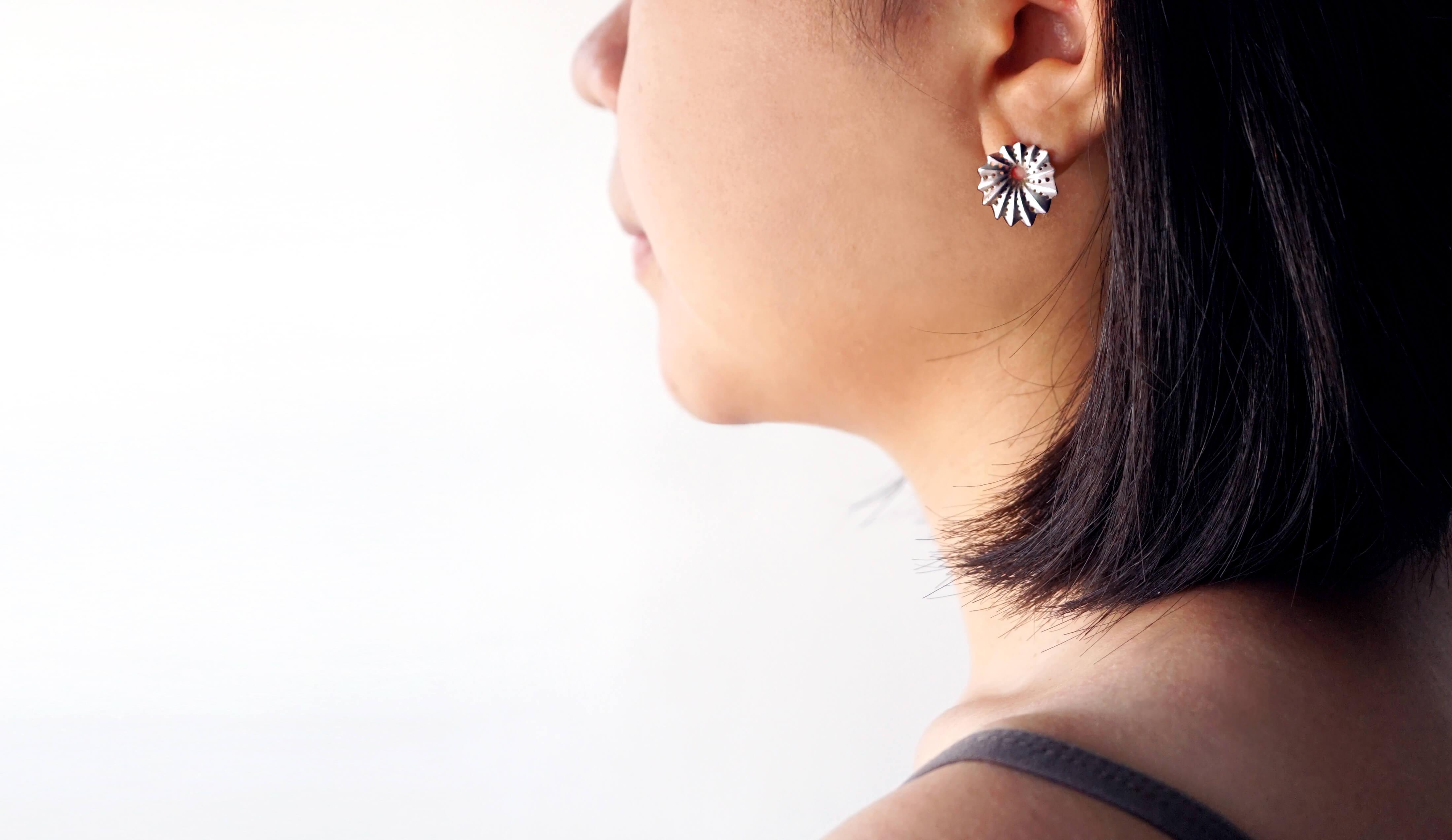 海洋系列-貝殼耳環