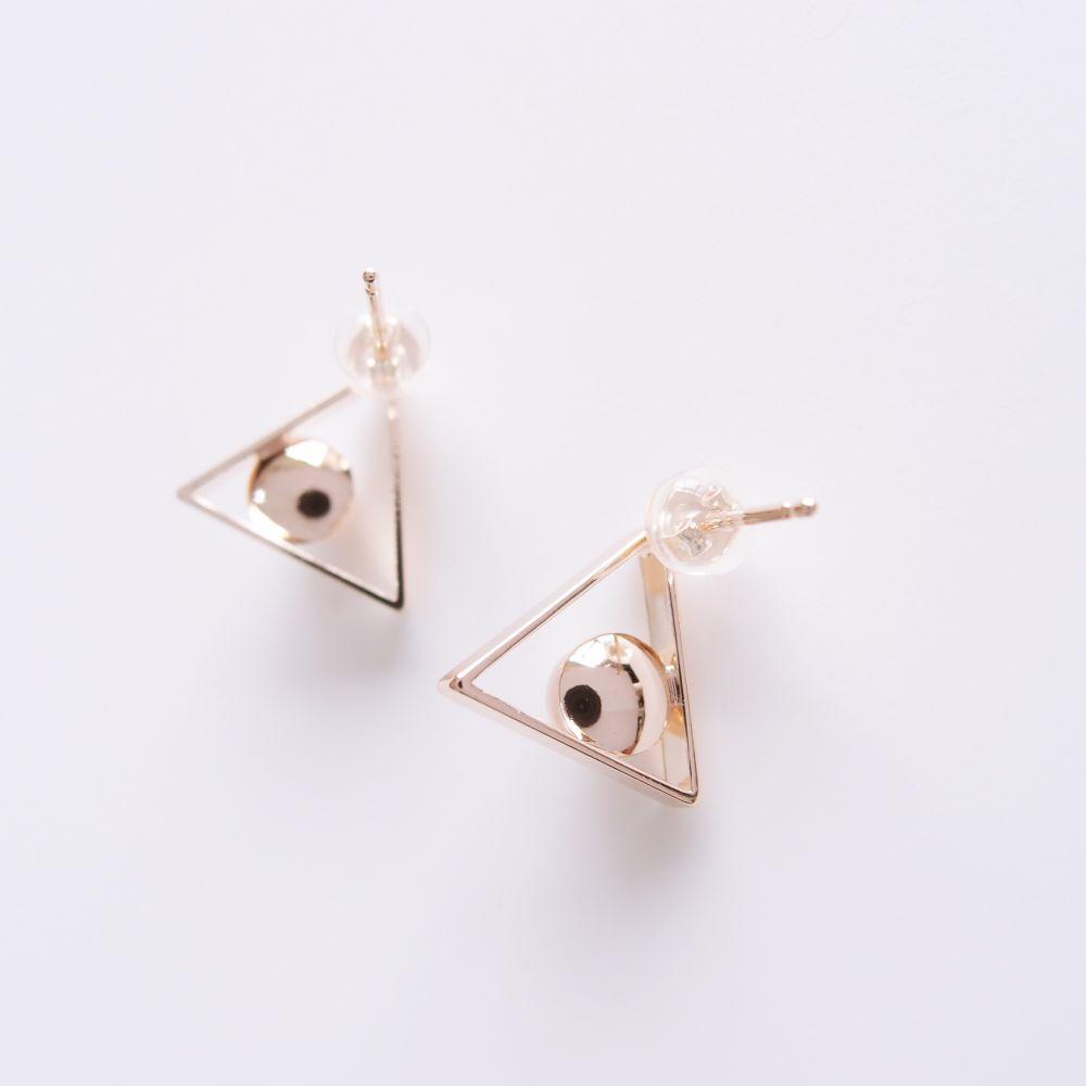 幾何風景13 金屬耳環
