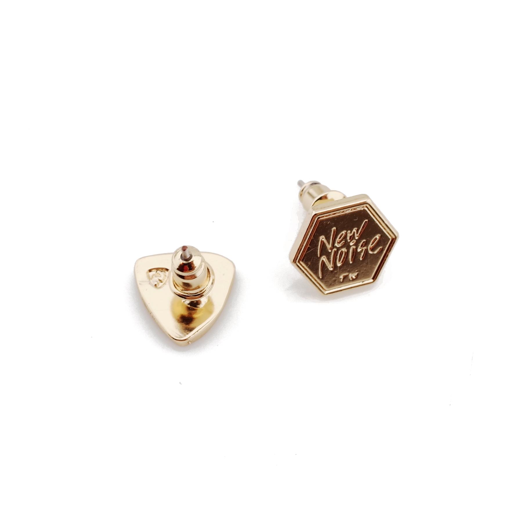 NEW NOISE 音樂飾品實驗所-簡單PICK耳針式耳環