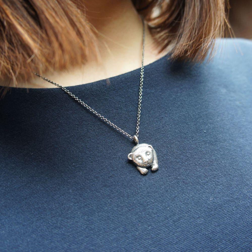 北極熊 925銀項鍊
