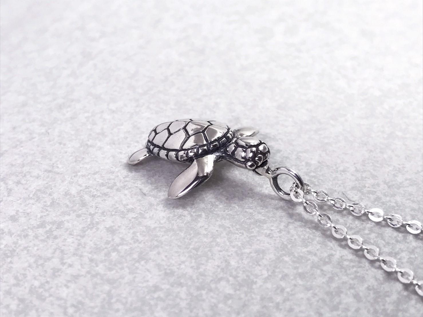海龜-純銀項鍊