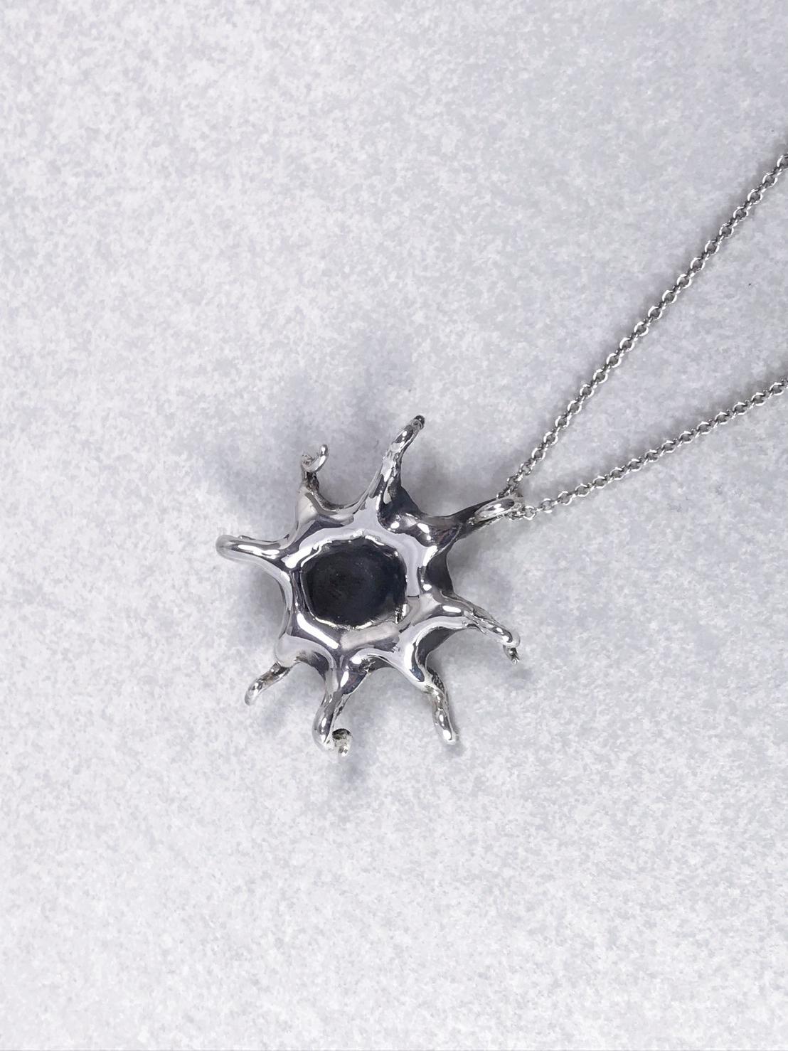 大章魚-純銀項鍊