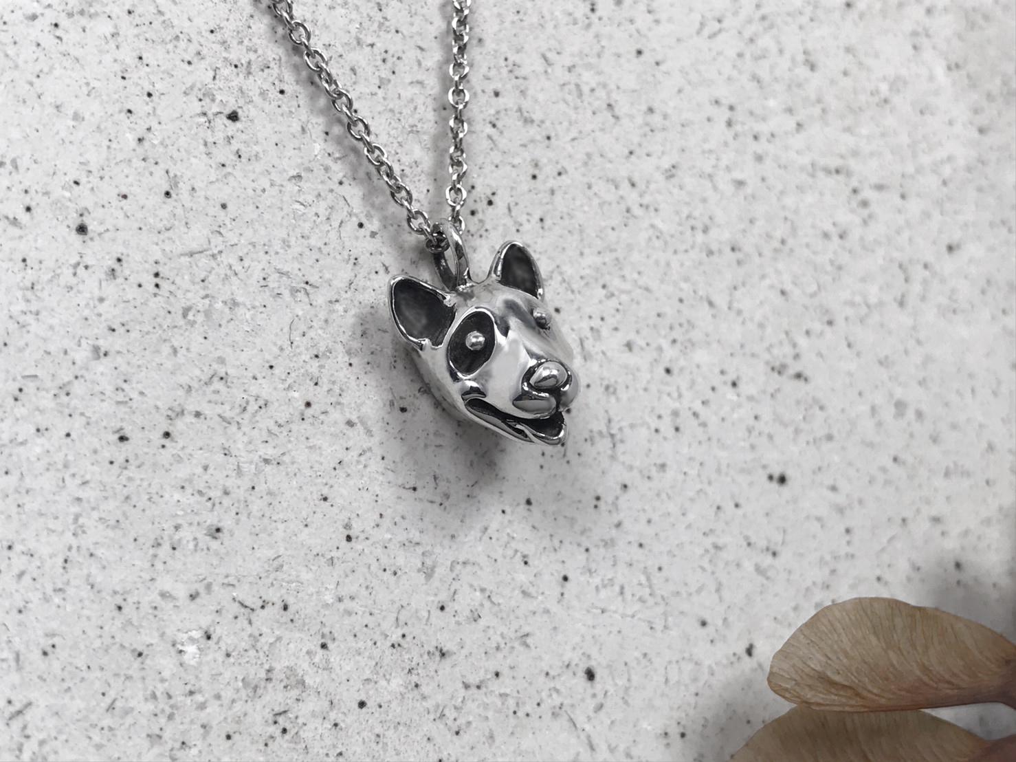 賤狗-純銀項鍊