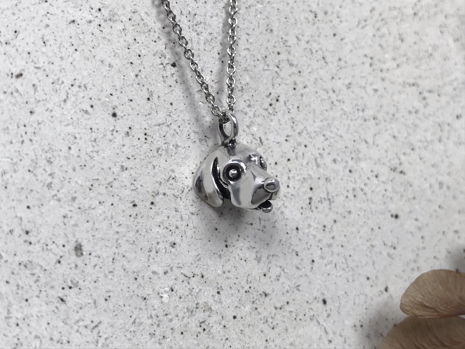 米格魯-純銀項鍊