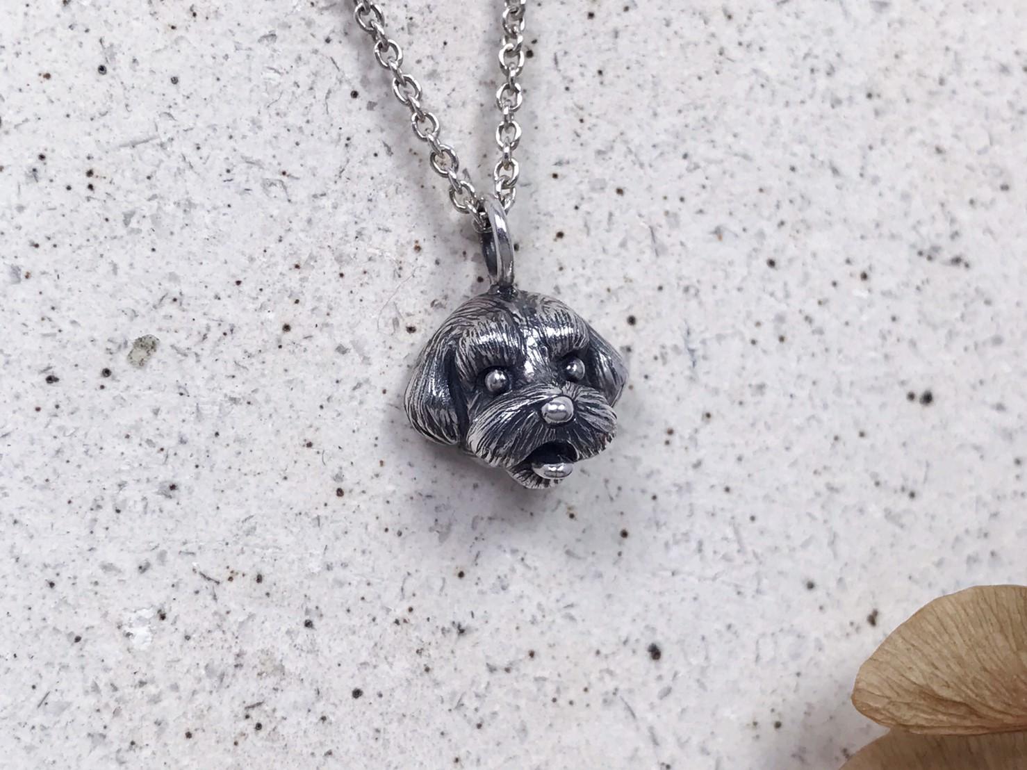 馬爾濟斯-純銀項鍊