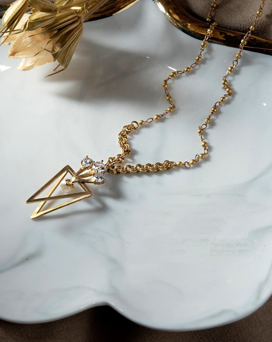 聖殿寶物項鍊