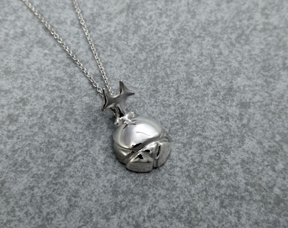 小獨角仙-純銀項鍊