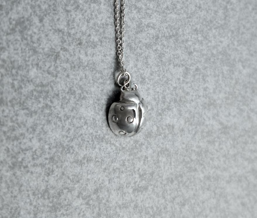 瓢蟲-純銀項鍊