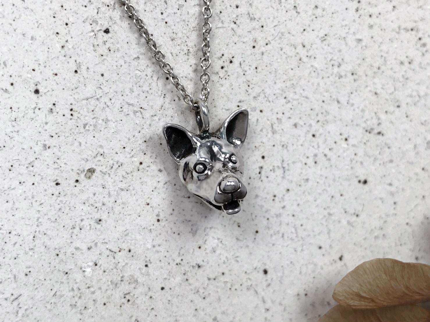 土狗-純銀項鍊