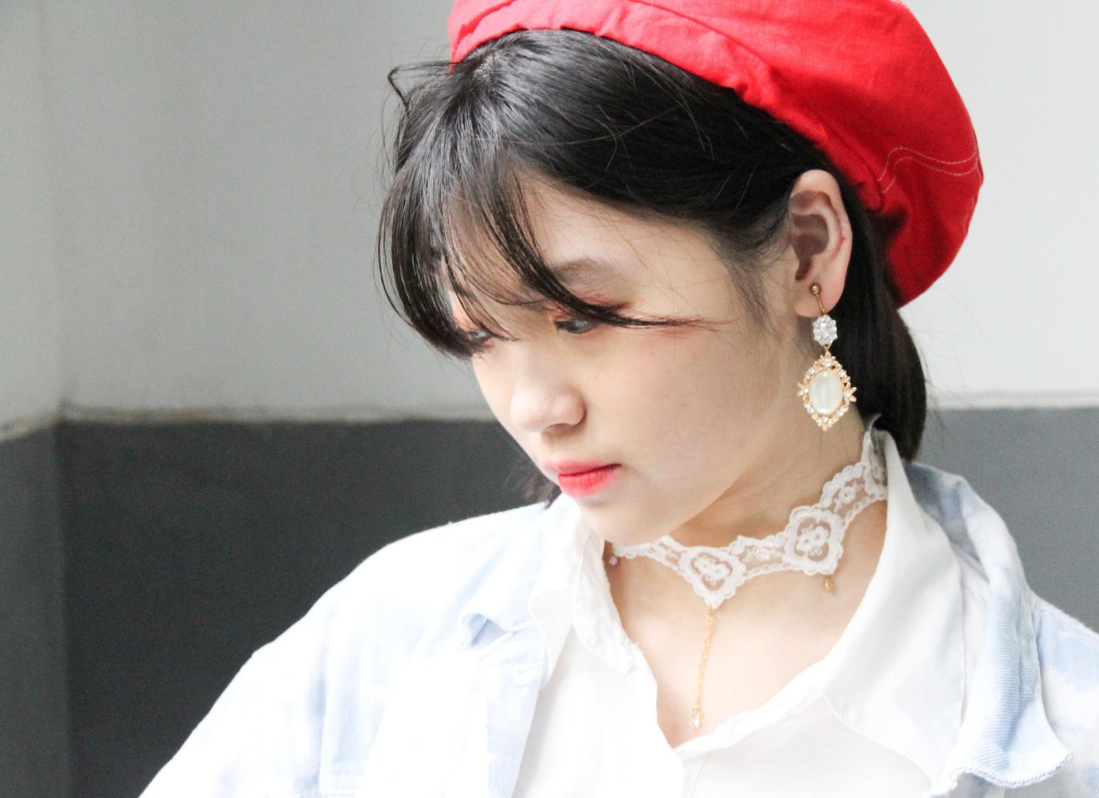 浪漫中國與北歐童話染織設計系列- 貝蕾帽/畫家帽