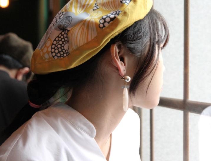 絕色黃銅 新銳設計師展售系列- 幾何耳飾AG FASHION