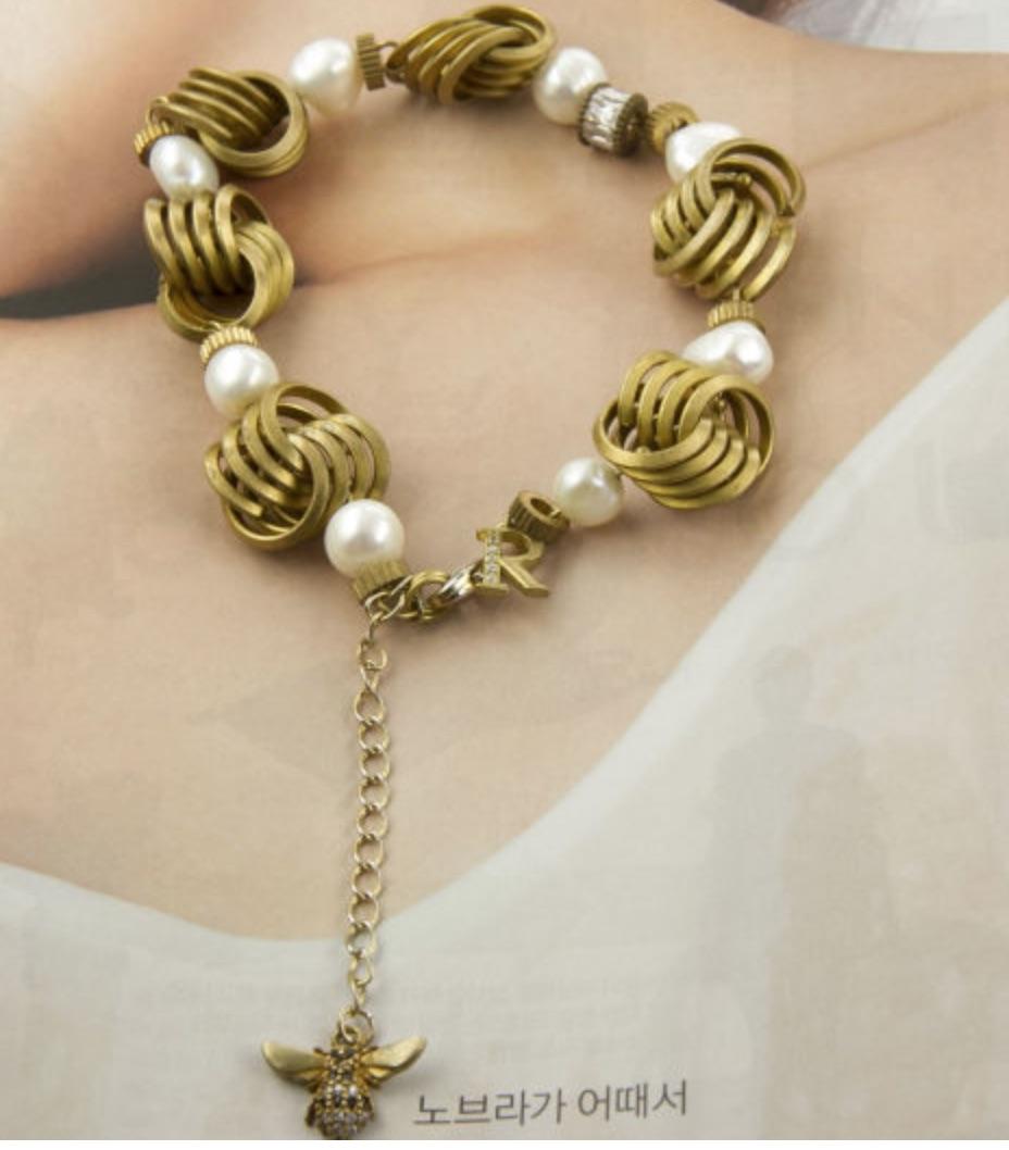 韓國黃銅系列- BEE2 手工輕珠寶