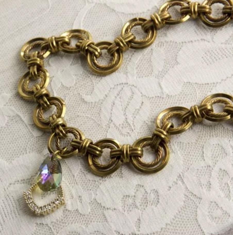 韓國黃銅系列- 彩虹 手工輕珠寶