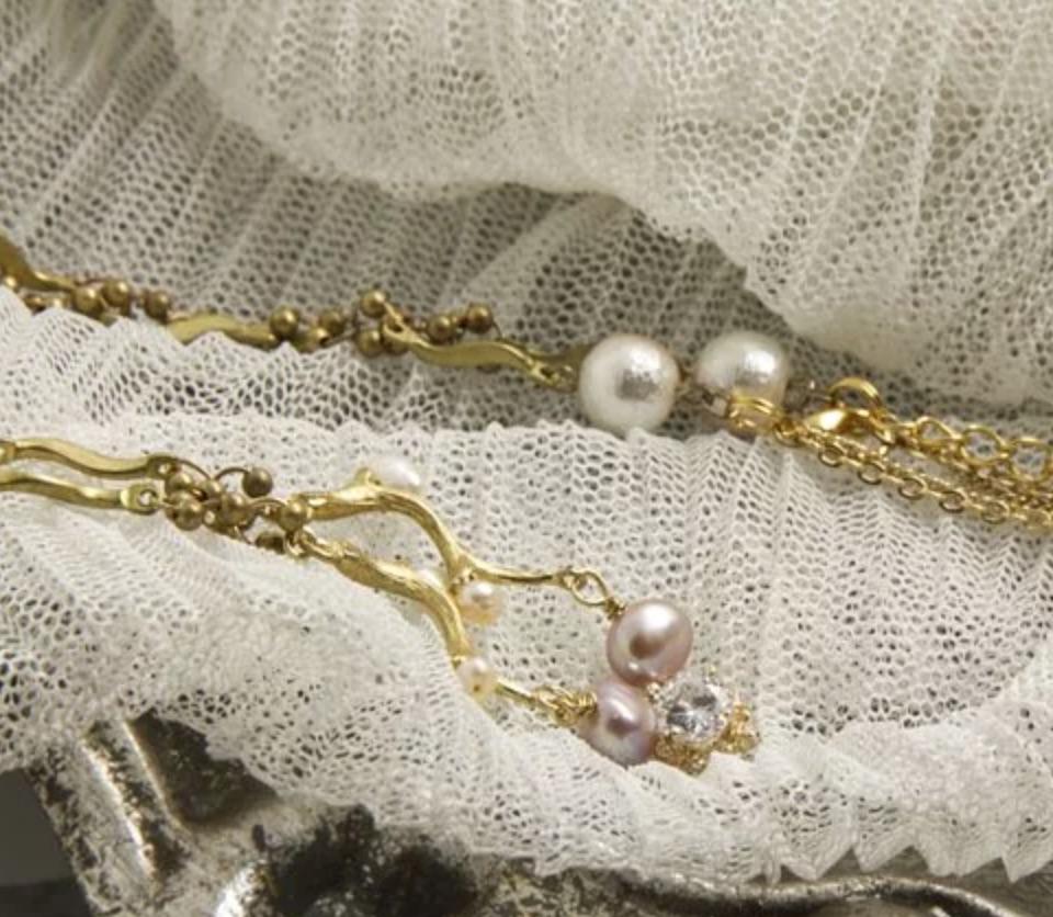韓國黃銅系列- 維多利亞的優雅 手工輕珠寶