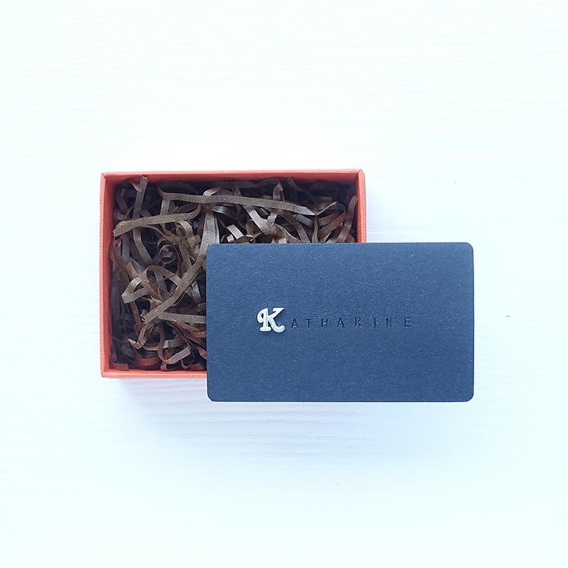 INITIAL我的姓氏系列-一個立體優雅字母客製刻字卡片純銀耳環