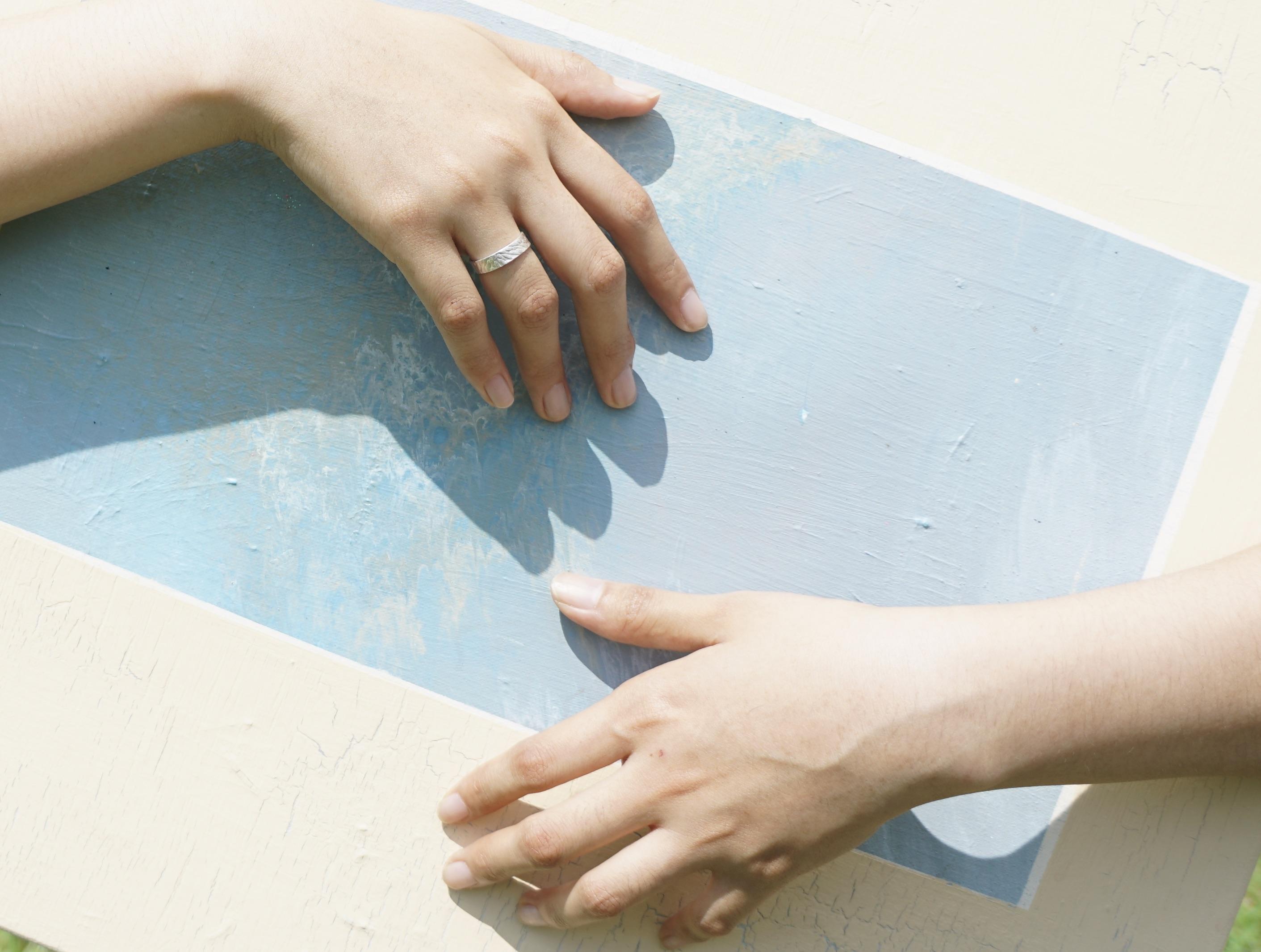撫存.壓羽系列—開放式戒指