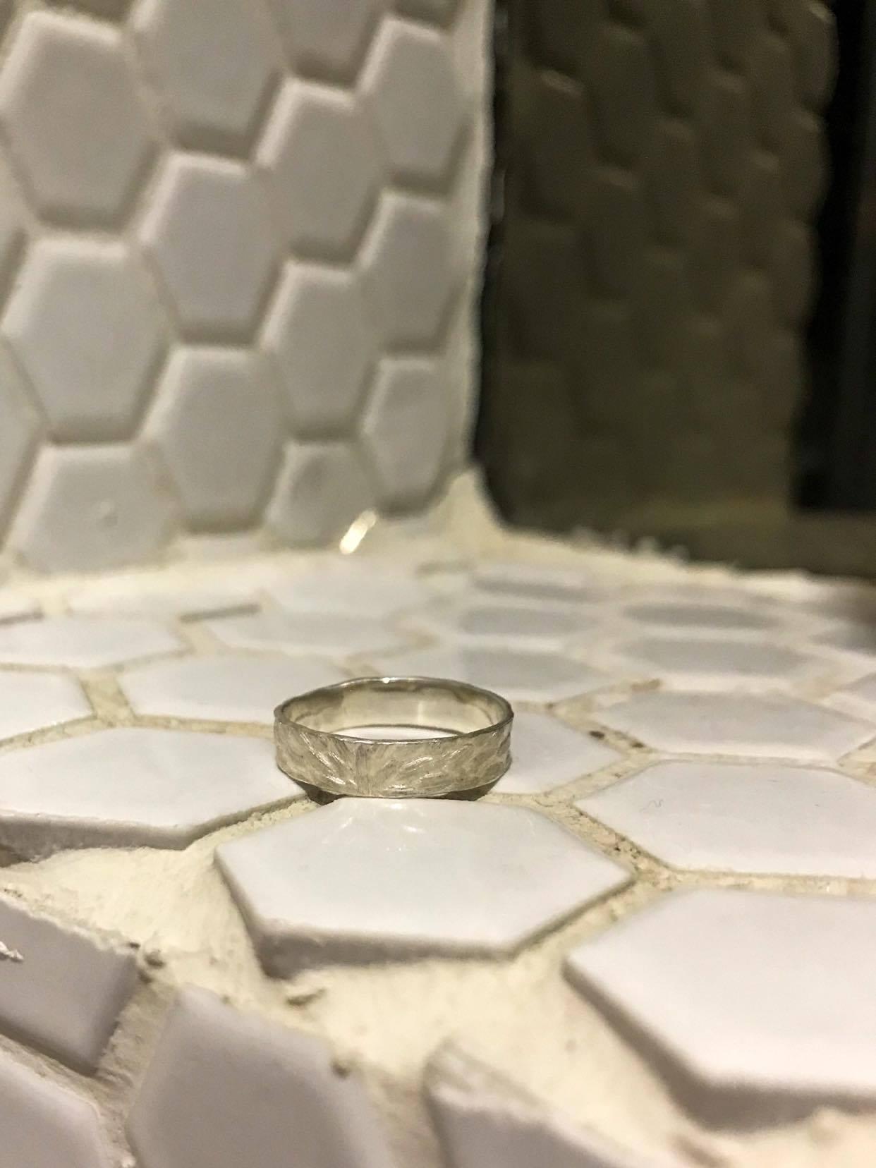 撫存.壓羽系列—外顯戒指